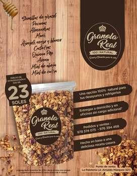 Granola Casera 100% Natural