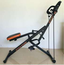 Máquina de ejercicio abdominal, Monitor y Ligas Style Stars