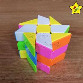Windmill 3x3 Candy Colors Cubo Rubik Fanxin Stickerless