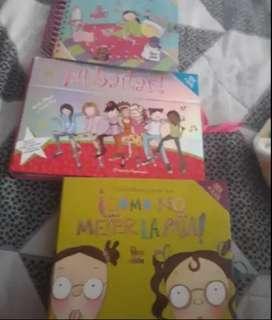 Colección de libros cosas de niñas