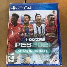 eFootball Pro Evolution Soccer 2021 PS4 Nuevo