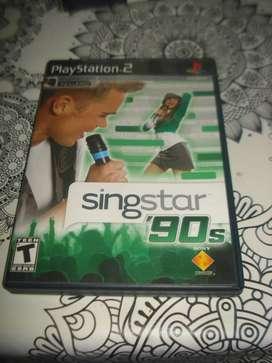 Juego Singstar 90s Para Play 2 Original Excelente No Envio