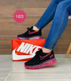 Zapato Tennis Deportivo Nike 370 Para Mujer