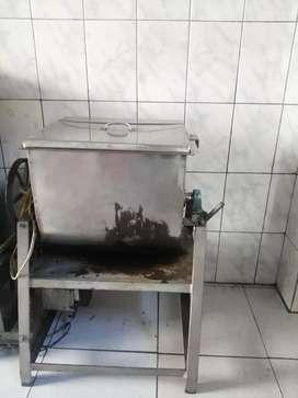 Máquina tostadora  freidora de fruto seco