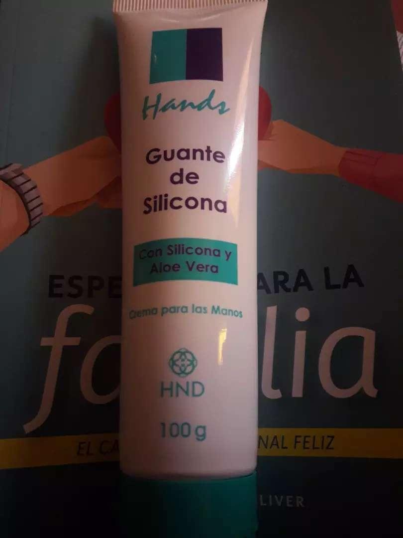 Crema Hands Guante silicona 0
