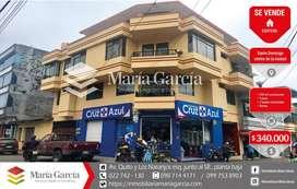 Edificio comercial en venta en el centro de Santo Domingo