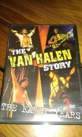 The VAN HALLEN Story The Early Years DVD.