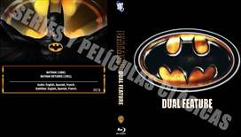 Edición Doble: Batman & Batman Regresa Bluray HD.