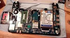 partes netbook sony vpc210al
