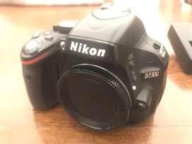 Cámara Nikon D5100 (body)