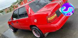 Hyundai exel 1994 Al dia exelecte estado  Tapisado aros formula Motor perfecto estado Vendo o cambio