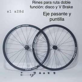 Rines Pará Bicicleta De Ruta