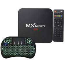 Tv Box Smart Tv 4K con Teclado Inalambrico