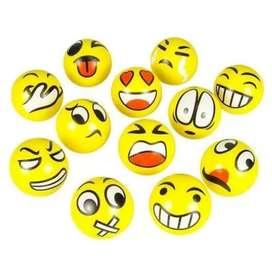 Pelotas Antiestres Emoticones Espuma
