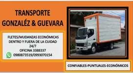 TRANSPORTE GUEVARA FLETES MUDANZAS