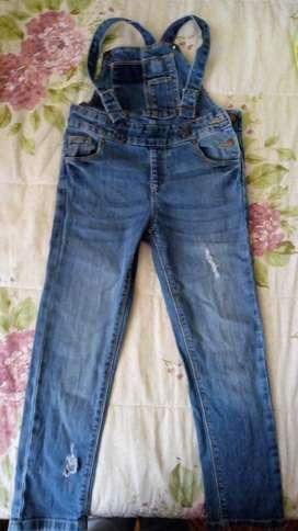 Pantalones Y Overol Talla 6 Y 8