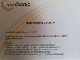 VENDO ECOGRAFO, SAMSUNG SONOACE R3 A PRECIO DE OCASION