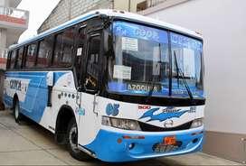 Se vende este bus con línea