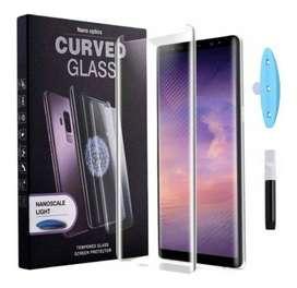 Vidrio Uv Templado Dispersión Líquida Samsung Note 20 Ultra