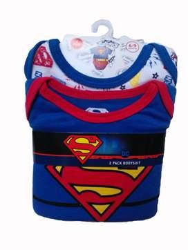 Set de dos piezas para niño Superman
