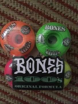 Ruedas Bones Skateboarding Importadas