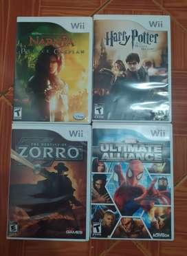 Combo nintendo Wii, juegos, controles y accesorios