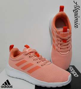 Adidas: Tenis LiteRacer Active Orange - Talla 31.