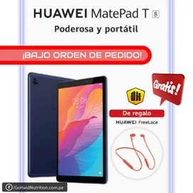 GRATIS! Audífonos Huawei Freelace Orange por compra Tablet Huawei Matepad T8