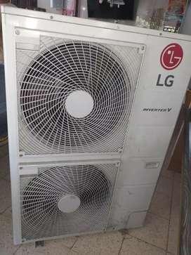 2 aires de 60 btu inverte LG
