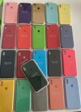 Silicone cases originales para iPhone