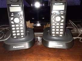 Vendo teléfonos inalámbricos Panasonic