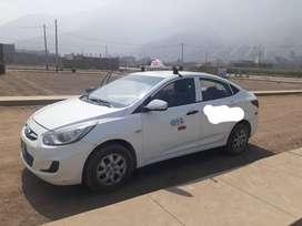 Hyundai Accent 2013 blanco