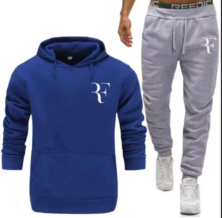 Jogger pantalón Roger Federer algodón