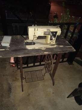 maquina de coser antigua brother delux