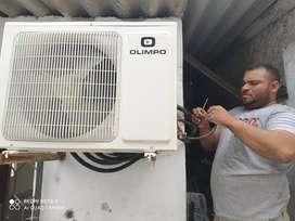 hago mantenimiento y reparación de aires y neveras