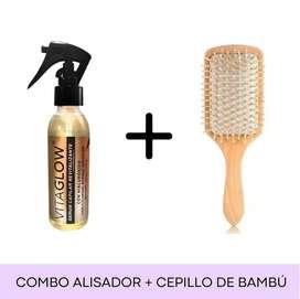 ALISADOR + CEPILLO DE BAMBU