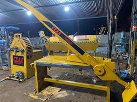 Dobladoras de tol , cortadoras de tol de toda medida según la requiera con transporte y garantía.