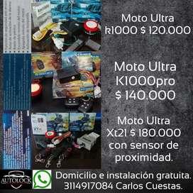 Promocion alarmas ultra km1000, Km1000pro,  xt21 y bombillos led