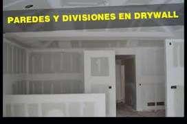 CONSTRUCCIONES EN DRAYWALL Y ACABADOS EN GENERAL