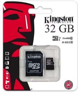 Memoria Kingston Micro Sd 32 Gb Clase 10