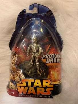 Muñecos de coleccion Star Wars originales