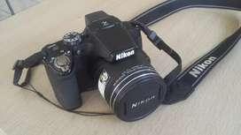 Cámara Nikon coolpix p510 excelente estado