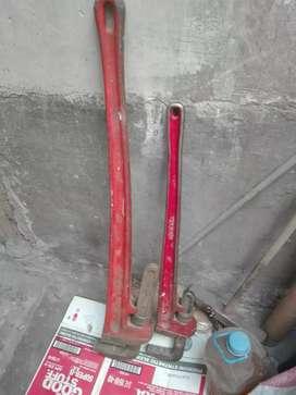 "Llave de tubo 48"" marca RIDGID - Usa"