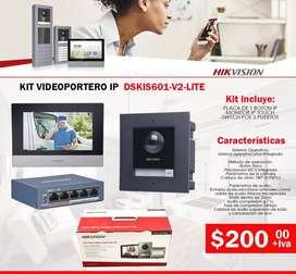 videoportero ip de 1 botone-2 botones-4 botones-kit videoportero ip-conexion internet-wiffi-placa