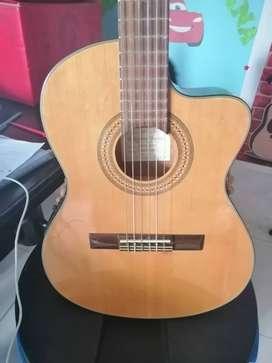 venta de guitarra ibañez clasica con ecualizador