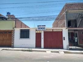 Vendo casa de 120 M2 (6 x 20) en Alfonso Ugarte III etapa, a espaldas del colegio Santa Teresita.
