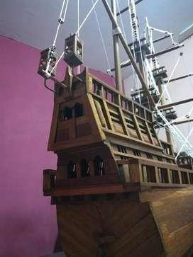 Barco de Madera a Escala Colección