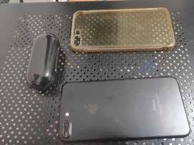 iphone 7 plus de 256gb y auriculares tws
