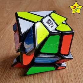 Cubo Rubik Moyu Crazy Yileng Fisher Original 3x3 - Negro