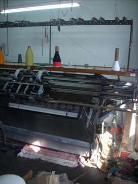 maquina de tejer industrial - MCM